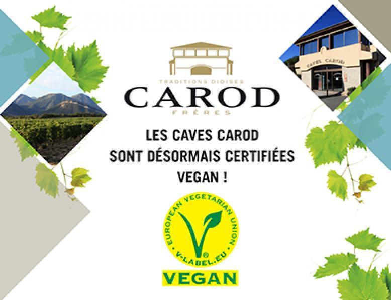 Clairette de Die Bio Label Vegan